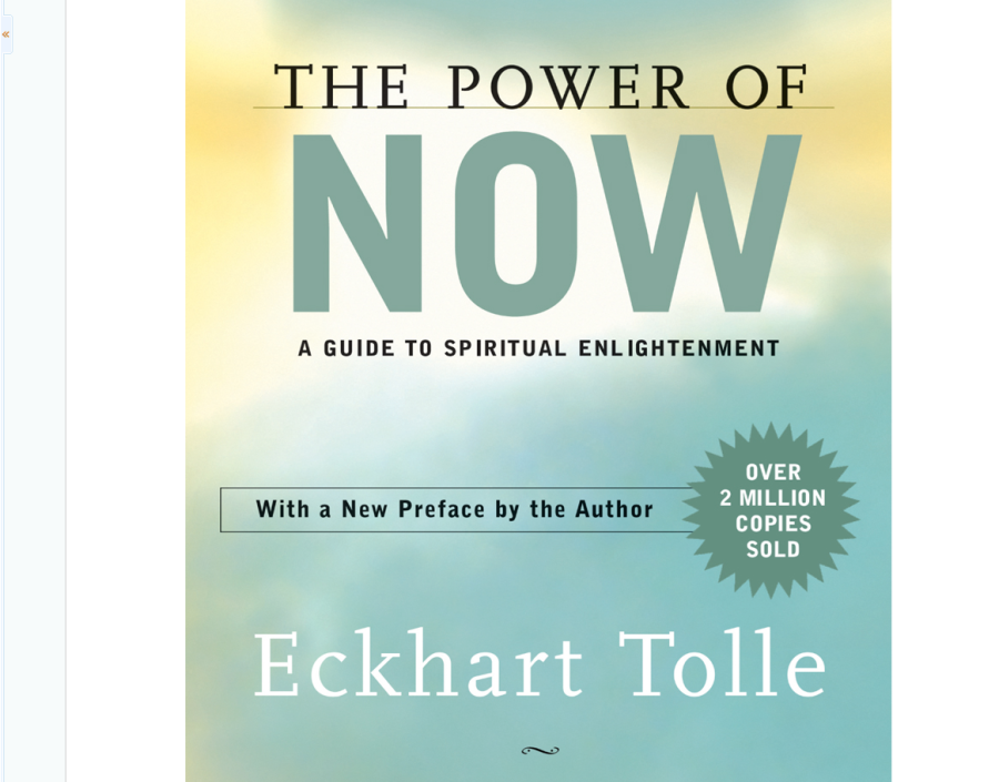 Image for The Power of Now by Ekhart Tolle