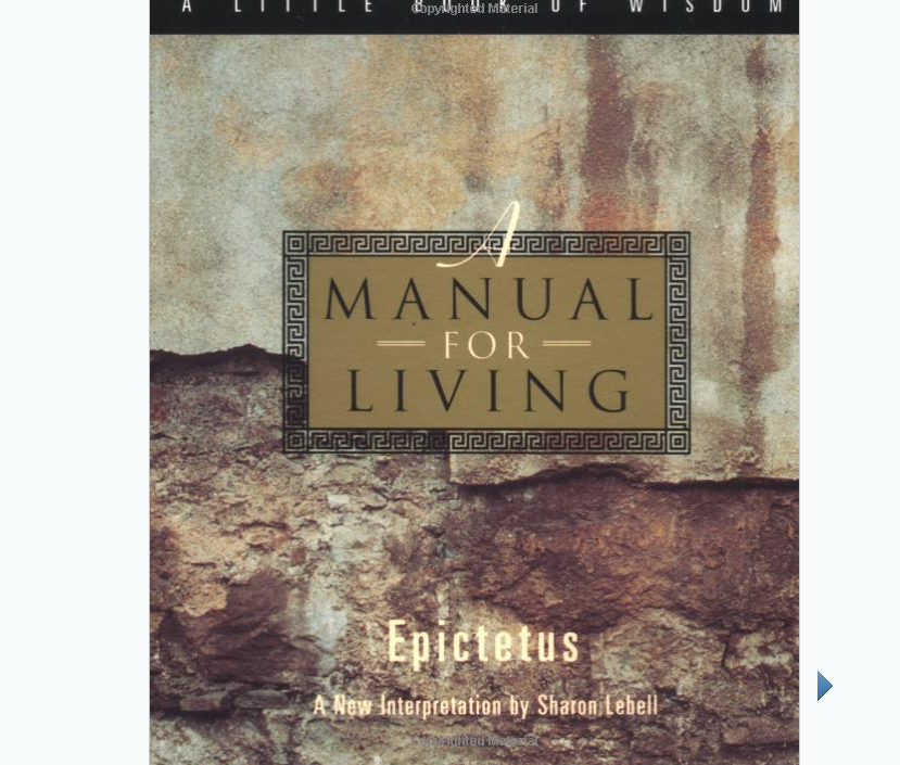 Image for Manual for Living by Marcus Aurelius