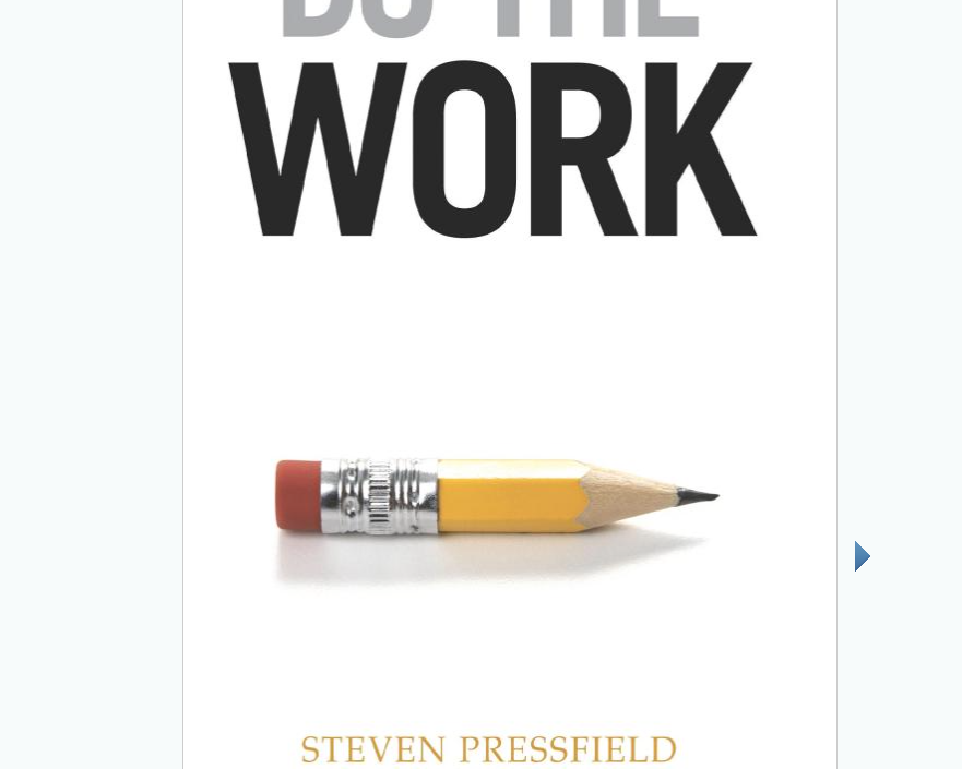 Image for Do the Work by Steven Pressfield