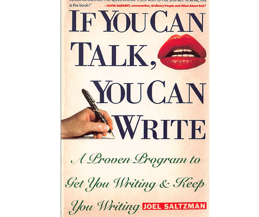 Image for If You Can Talk, You Can Write by Joel Saltzman