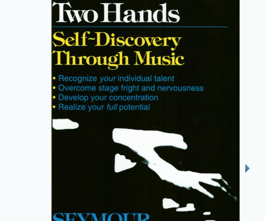 Image for With Your own Two Hands by Seymour Bernstein