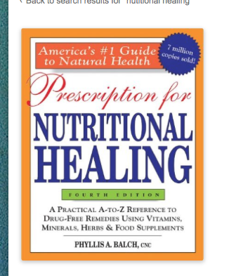 Image for Nutritional Healing by Phyllis Balch