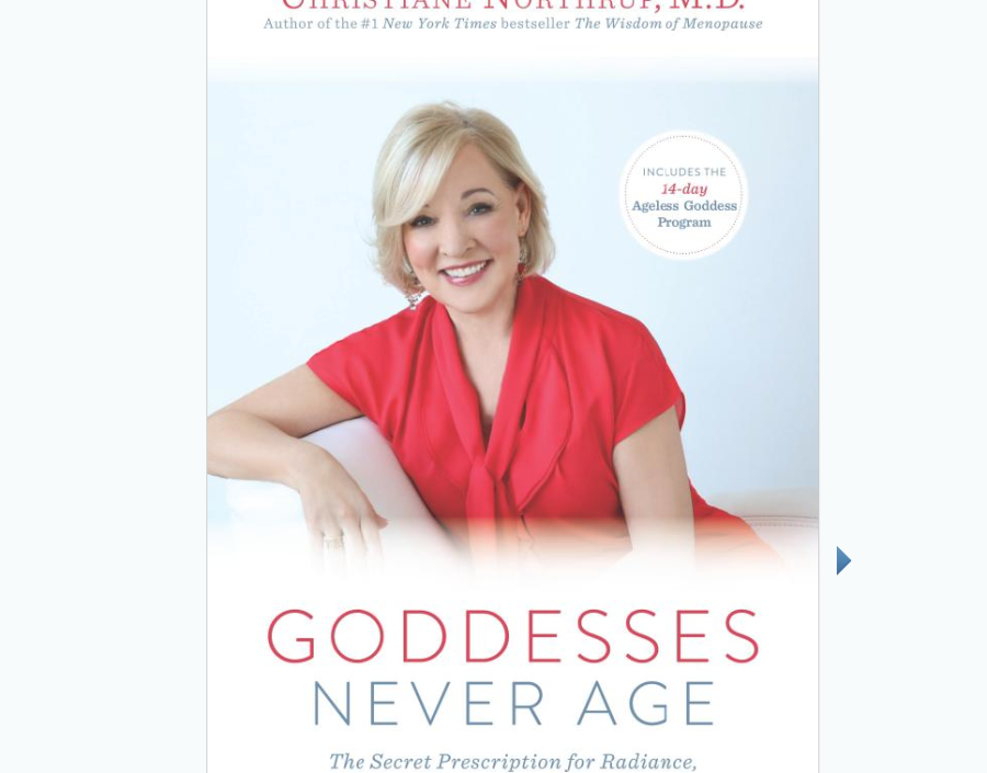 Image for Goddesses Never Age by Dr. Christine Northrup