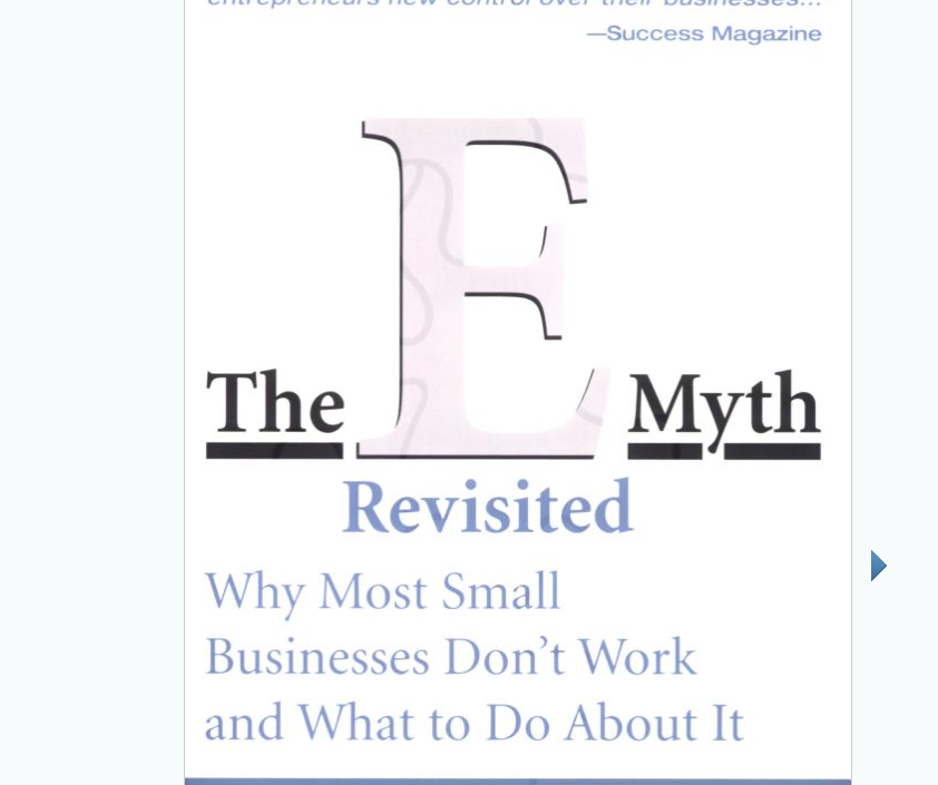 Image for The E Myth Revisited by Michael E. Gerber