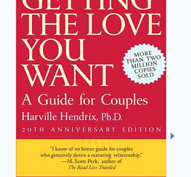 Image for Getting The Love You Want by Harville Hendrix Phd