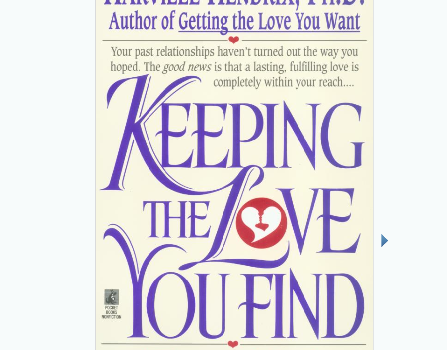 Image for Receiving the Love You Find by Harville Hendrix Phd